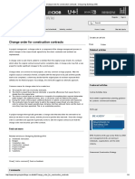 Change Order for Construction Contracts - Designing Buildings Wiki