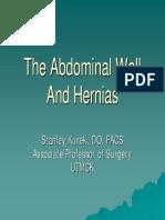 Abdominal Wall and Abdominal Wall Hernias