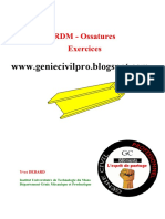 50 Exercices Corrigés sur les ossatures (RDM).pdf