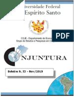 Boletim de Conjuntura Econômica UFES 2015