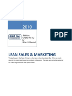 Lean Sales and Marketing Final
