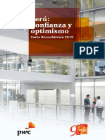 PWC Peru Confianza y Optimismo 2013