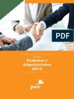 Estudio Sobre Fusiones y Adquisiones 2015
