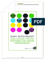 Una Super Triste Historia de Amor Verdadero - Gary Shteyngart