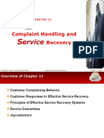 Chapter 13 Complaint Handling