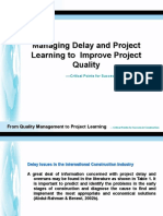 QM to Project Learning