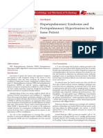 Hepatopulmonary Syndrome and Portopulmonary Hypertension in the Same Patient