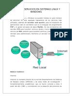Informe - Servicios en Sistemas Linux y Windows