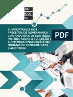 A Importância Dos Preceitos de Governança Corporativa e de Controle Interno - CRC-RS 2015