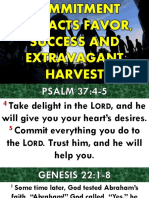 Commitment Attracts Favor, Success and Extravagant Harvest.pptxbishop Wisdomsundayservice