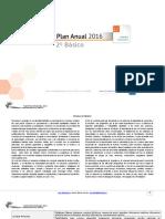Planificacion Anual Lenguaje 2Basico 2016
