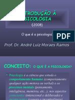 Introdução à Psicologia - 2008