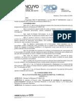 ORD 2010 009-CD (FEEE) Presentación de Actividades de Capacitaciones y Perfecci Onamiento Reforma Ord. 06-07cd.
