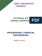 Che325 Tutorial Kit