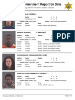 Daily Booking sheet for the Peoria County Jail, March 28, 2016