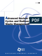 [Nuclear Energy Agency] Advanced Nuclear Fuel Cycles and Radioactive Waste Management
