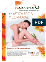 Folleto Estetica Facial Corporal