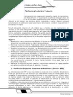 Clase I. Planificación y Control de La Producción