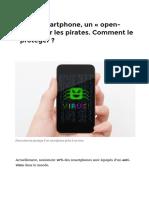 Votre Smartphone, Un «Open-bar»Pour Les Pirates