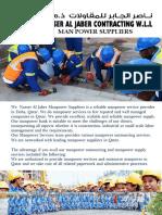 Nasser Al Jaber Man Power Supply
