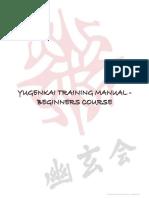 Yugenkai Training Manual for Beginners