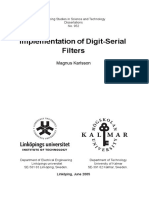 Implementation of digital-serial filters by Magnus Karlsson..pdf