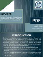 MEZCLAS ESPURIAS