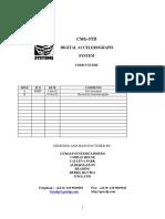 CMG-5TD Manual Rev B