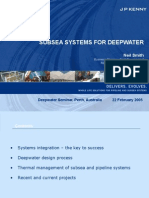 Subsea System for Deepwater