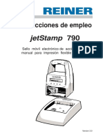 Reiner Instrucciones de Empleo 790