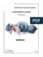 Ccd II Basic Alcatel Contact Center - CCD Basic