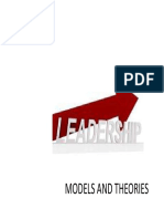 Leadership-models and Theories