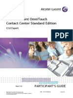Alcatel Contact Center - CCD Expert