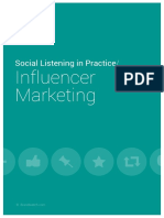 Social Listening in Practice Influencer Marketing
