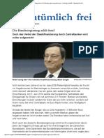 Negative Einlagezinsen_ Die Bundesregierung Zahlt Drauf - Henning Lindhoff - Eigentümlich Frei