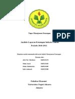 Analisis Laporan Keuangan Perusahaan Semen