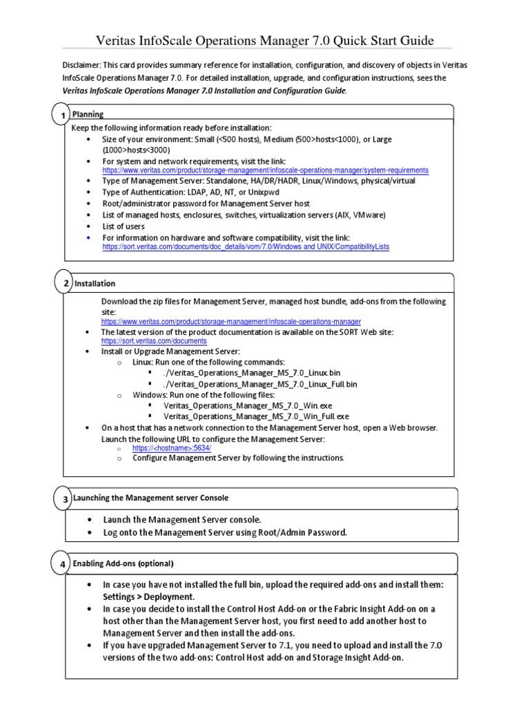 VOM QuickStartGuide 70 | Installation (Computer Programs