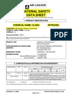 Nitrogen MSDS PDF