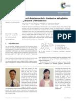 Recent Developments in Rhodamine Salicylidene Hydrazone Chemosensors