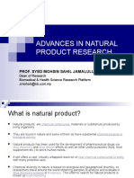 Keynote B2 - Advances in Natural Product Research