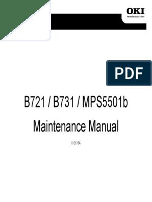 B721 B731 MMPS5501b Maintenance Manual Rev 1A | Electrical Connector
