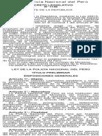 Ley Pnp - Decreto Leg. 1148