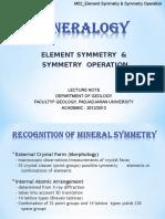 M02_Element Symmetry - Symmetry Operation