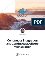 Codeship Continuous Integration and Continuous Delivery With Docker