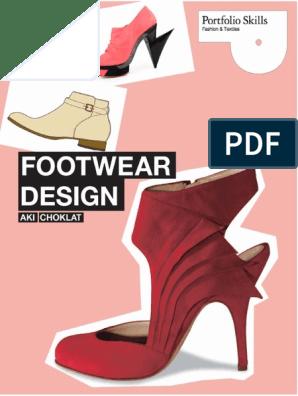 Footwear Design Portfolio Skills Fashion Amp Textiles | Foot