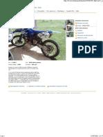 250 Yz a Voir Motos Jura - Leboncoin.fr