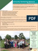 Newsletter - Tasmania's Community Garden Network - December 2005