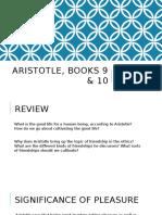 Aristotle, Book X