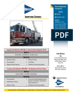 Fire Department Inspection Services