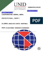 Topicos Avanzados de Administracion. Proyecto Final